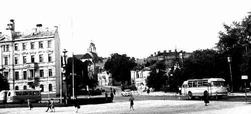 Vilnius, L. Stuokos-Gucevičiaus g. 7, sena nuotrauka