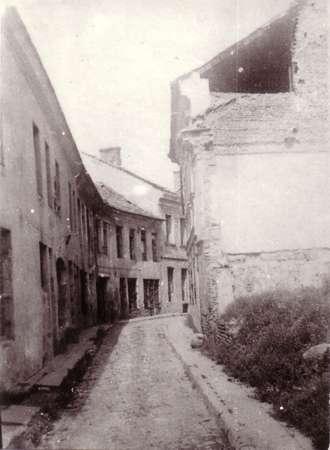 Vilnius, Dysnos g. 2, sena nuotrauka