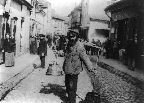 Vilnius, Žydų g., sena nuotrauka