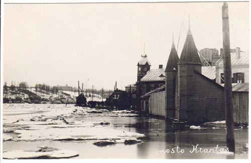 Vilnius, M. K. Čiurlionio g. 21, sena nuotrauka