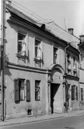 Vilnius, Totorių g. 17, sena nuotrauka