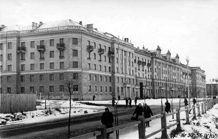 Vilnius, A. Jakšto g. 16, sena nuotrauka