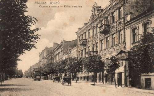 Vilnius, Sodų g. 11, sena nuotrauka