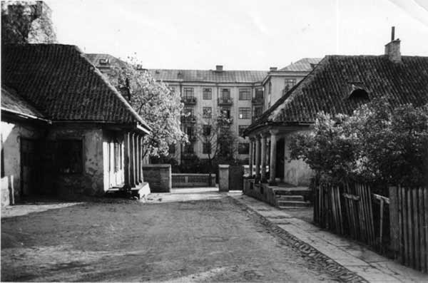 Vilnius, Tilto g. 5, sena nuotrauka