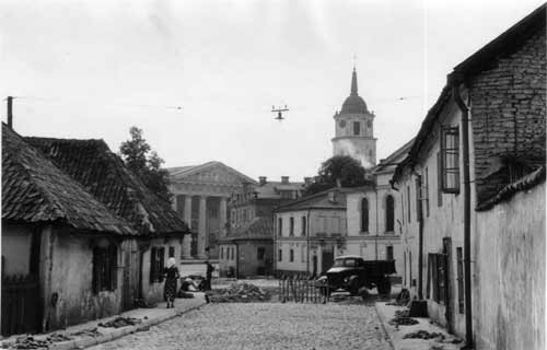 Vilnius, Tilto g. 3, sena nuotrauka